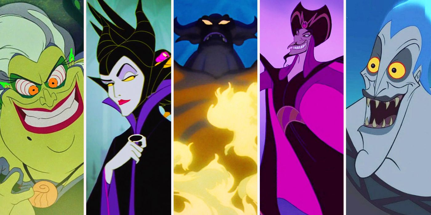 Evil Villains by Disney