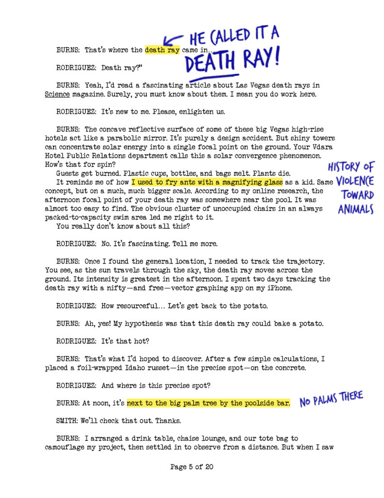 The Death Ray Interviews (Page 5)